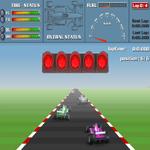 لعبة سباق السيارات المثير