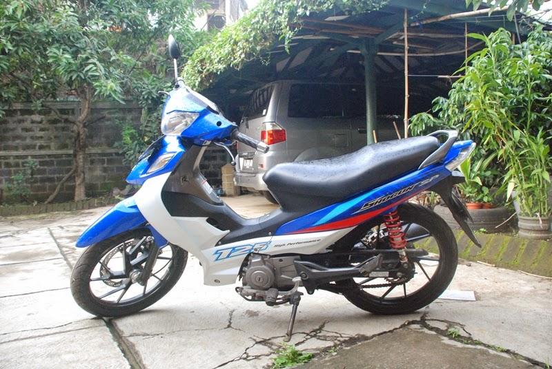 modifikasi suzuki shogun sp 2004