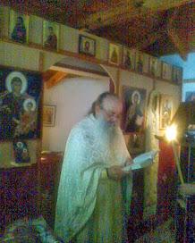 O Aρχιμανδριτης π. Ευθυμιος Τρικαμηνας καθε μηνα μαζι μας εδω στην Μακεδονια μας.