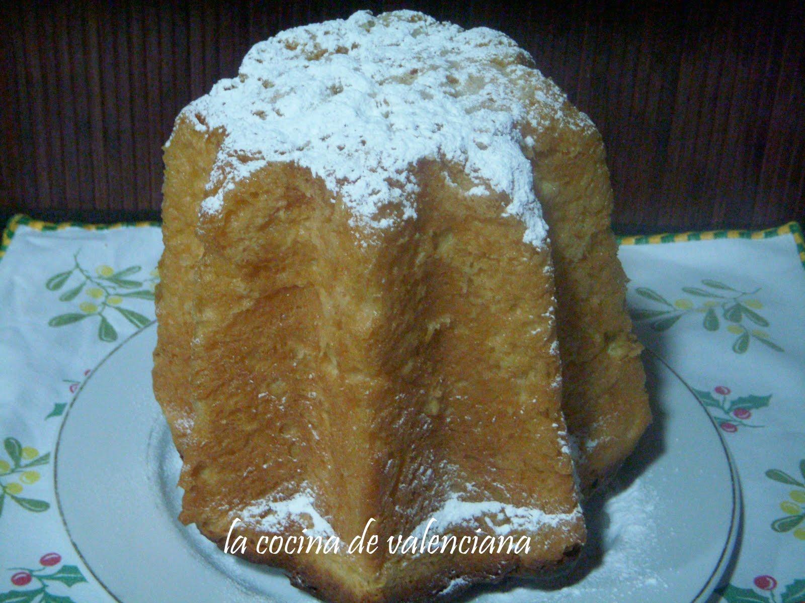 La cocina de valenciana pandoro for Cocina valenciana