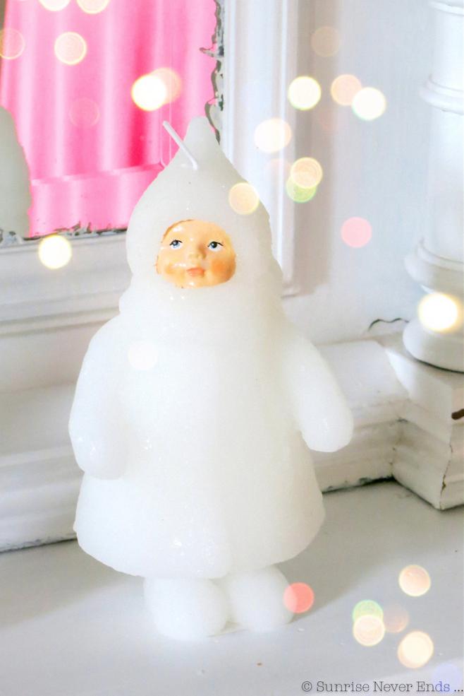 snow doll,bougie,poupée des neiges,joyeux noel, merry christmas