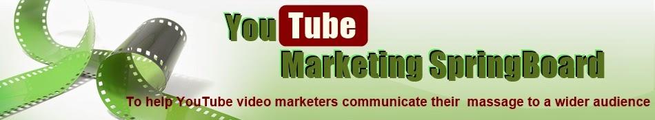 YouTube Marketing SpringBoard