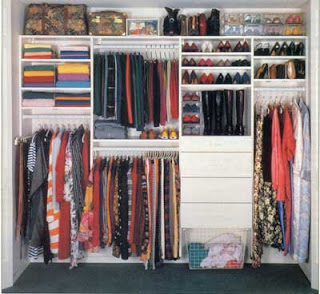 Womans Closet Design