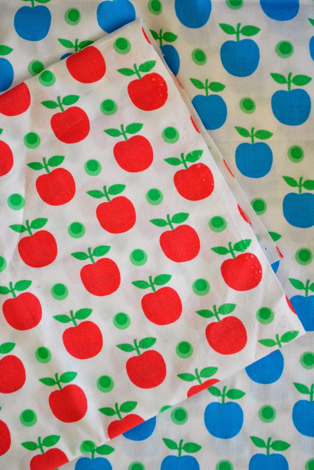 shop here: apple fabric