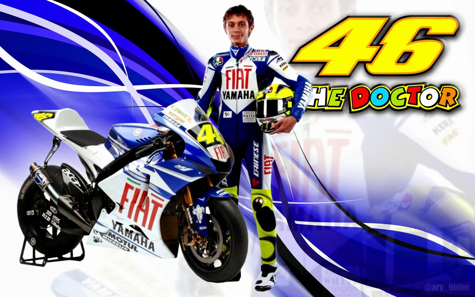Wallpaper Valentino Rossi Motogp Terbaru Dan Paling Keren