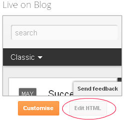 Edit Dynamic Template HTML