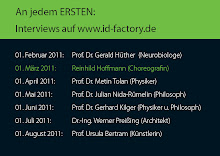 Zeitplan Interviews: