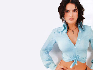 Salma Hayek HD Wallpaper