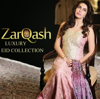 Elegance Eid Collection 2014 Zarqash Eid Collection 2014-15
