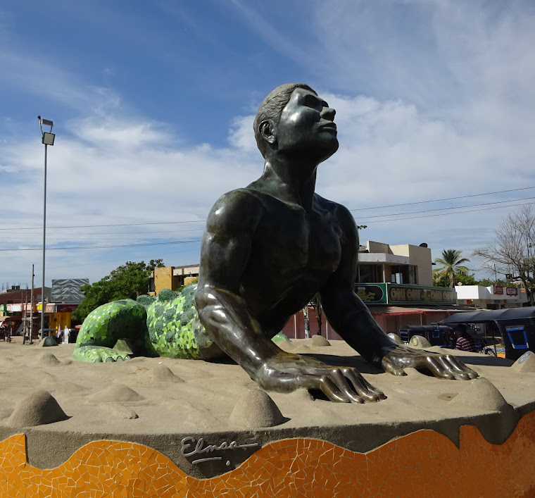 Monumento del Hombre Caimán en El Plato, Magdalena, Colombia. Foto tomada de Wikipedia.
