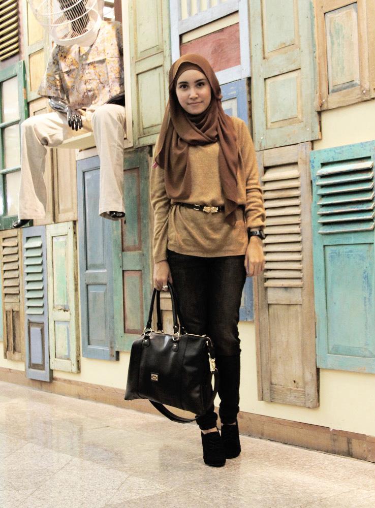 Gaya Hijab Trendy Untuk Remaja Tutorial Hijab