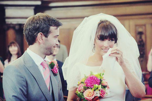novias con flequillo ideales belleza novias peinados