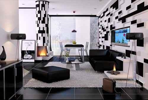 warna cat ruang tamu rumah minimalis modern terbaik desain
