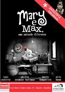 CINECLUBE CALEIDOSCÓPIO - MARY E MAX