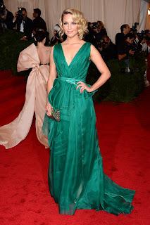 Dianna Agron in Met Gala 2012