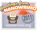 Nanowrimo, baby!