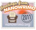 Nanowrimo, baby!