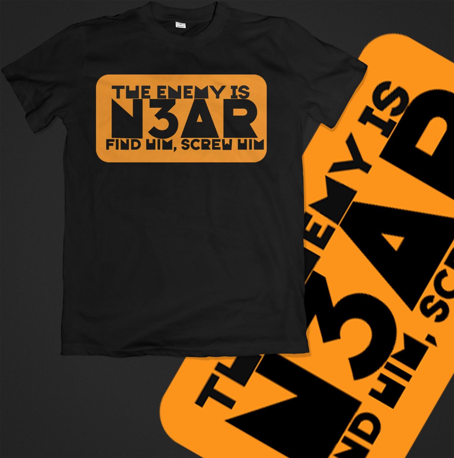T Shirt Design Custom Ideas Vector Downloads Enemy Is