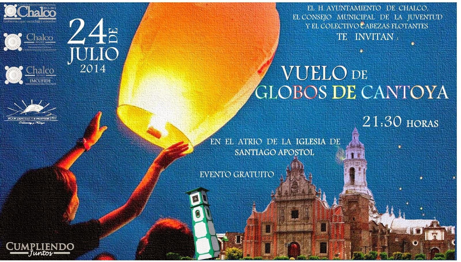 Feria de Chalco Globos de Cantoya 2014