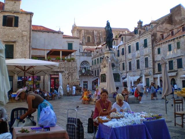 Старинная-Площадь-Дубровника