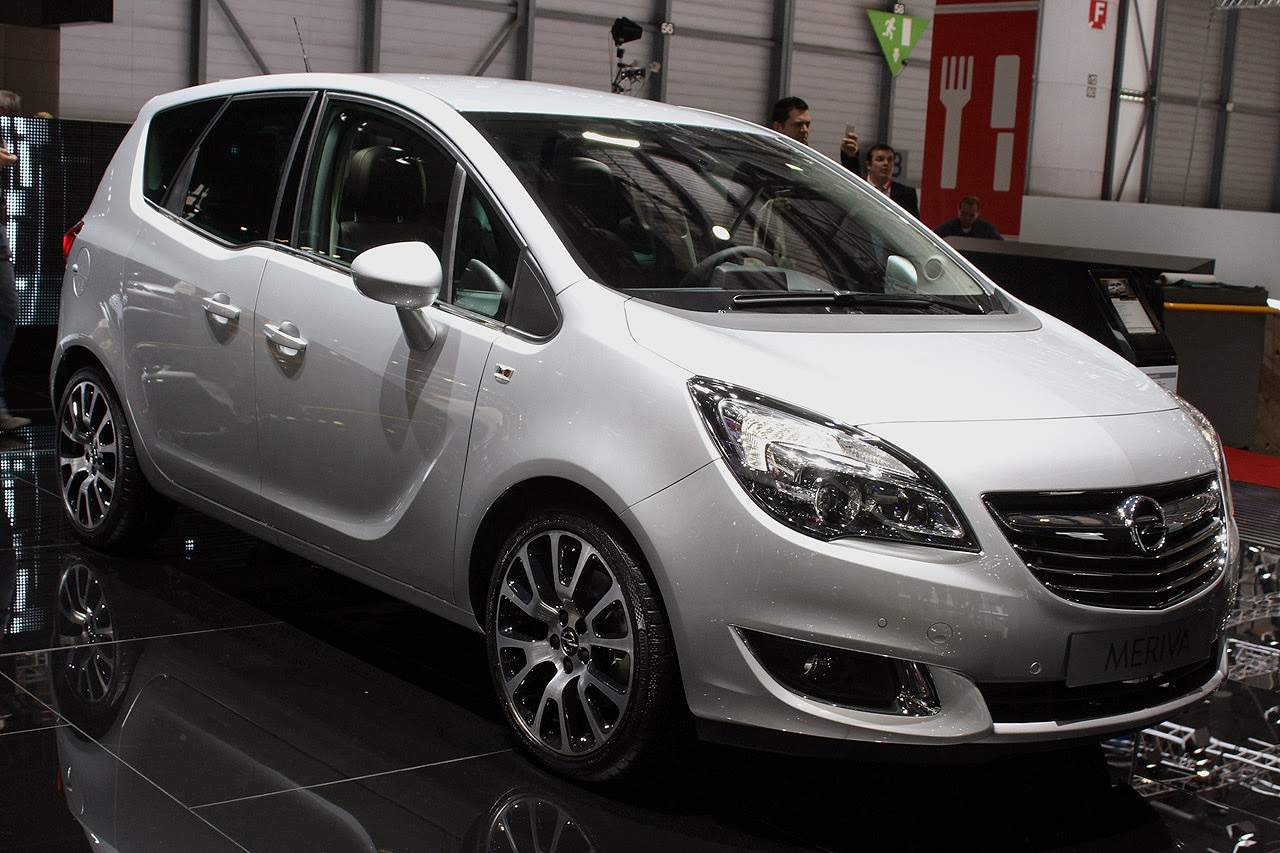 automotiveblogz opel meriva geneva 2014 photos. Black Bedroom Furniture Sets. Home Design Ideas