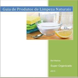 Guia de Produtos de Limpeza Naturais