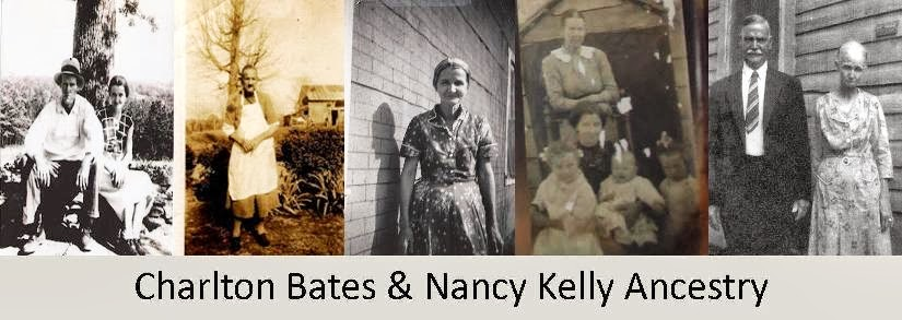 Charlton Bates & Nancy Kelly Ancestry