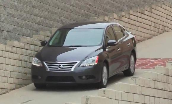 Nuevo Nissan Sentra 2013 en las calles