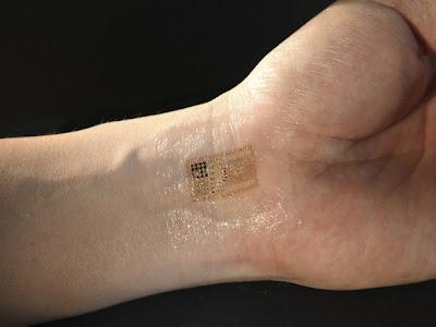 Tatuagens eletrônicas garantirão a segurança em transações eletrônicas no futuro.