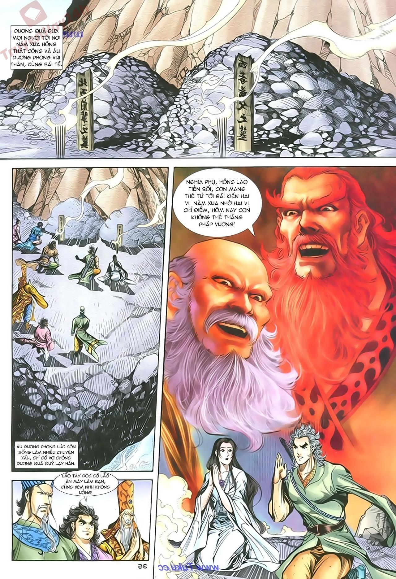 Thần Điêu Hiệp Lữ chap 86 – End Trang 34 - Mangak.info