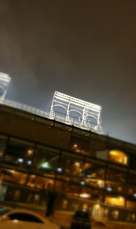 Wrigley at Night