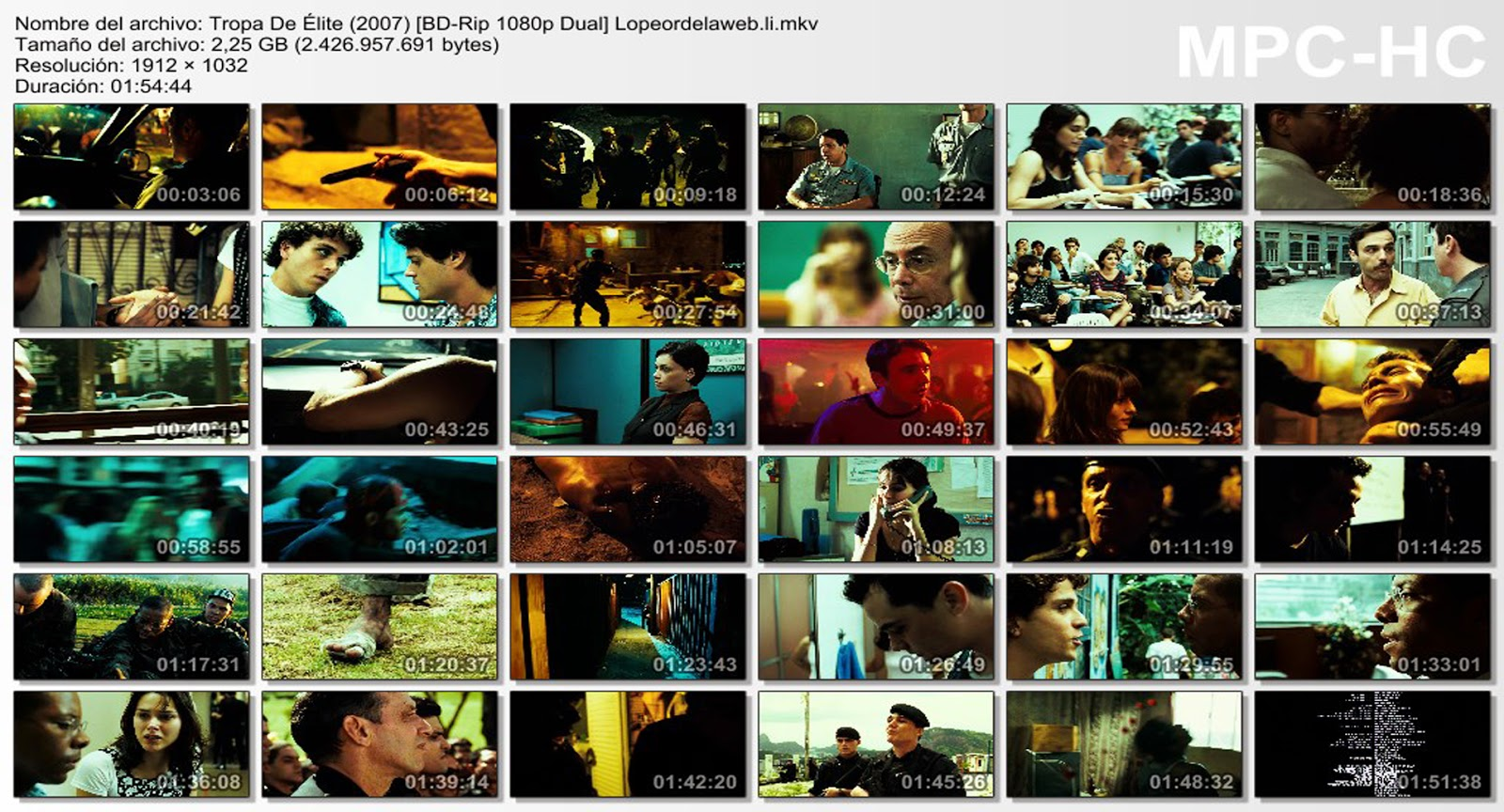 Tropa De Élite (2007) [1080p. Dual]