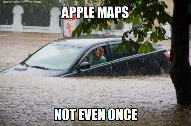 Funny Apple Meme : Apple maps ~ melolz just for fun funny memes jokes troll pics