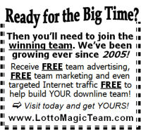 Lotto Magic 2 inch display - for offline marketing