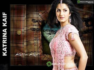 Katrina Kaif Sari Wallpaper
