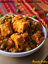 Matar Paneer, Peas And Paneer Curry
