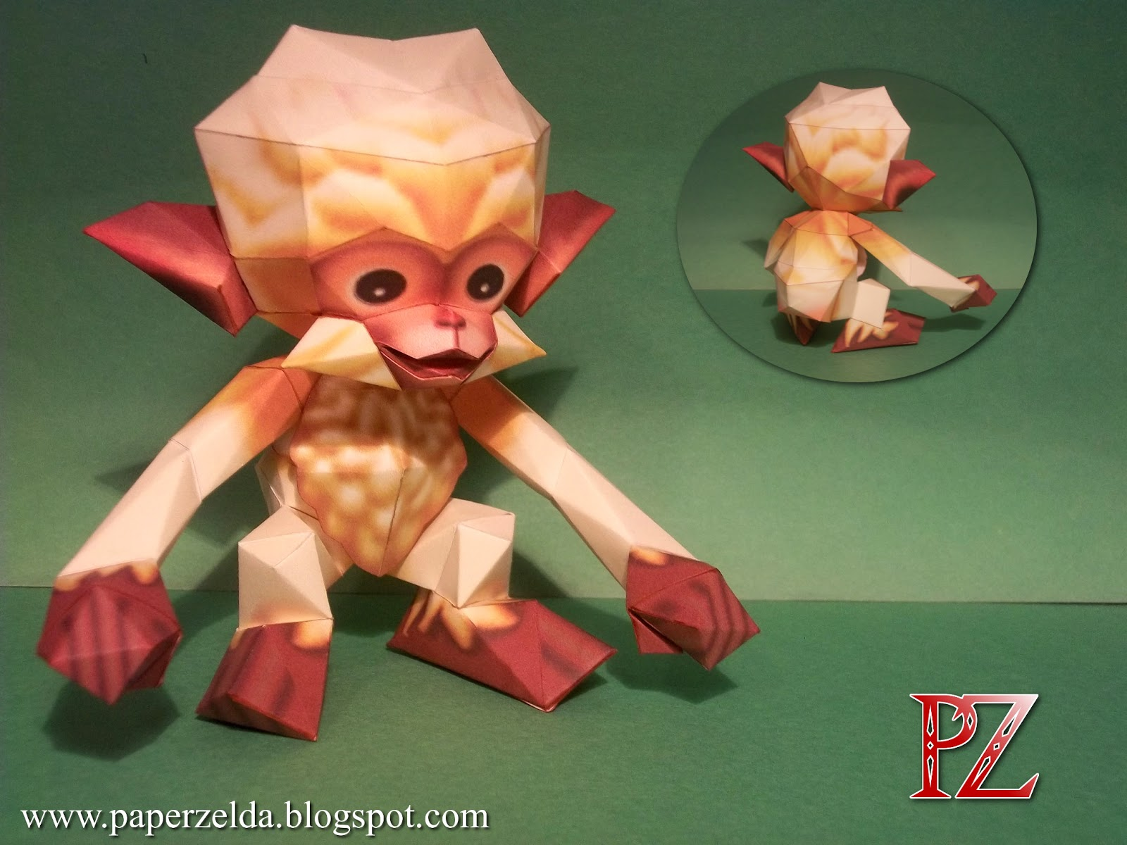 Majora's Mask - Monkey Papercraft