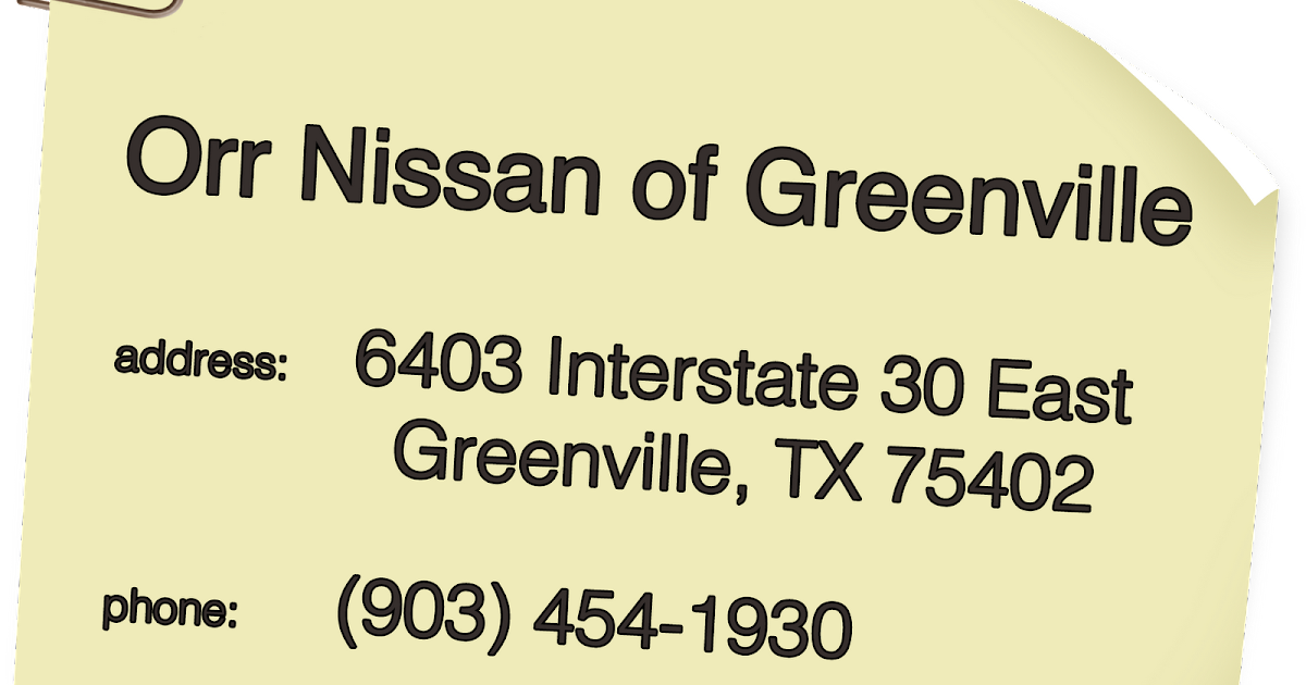 Charming Nissan Of Greenville