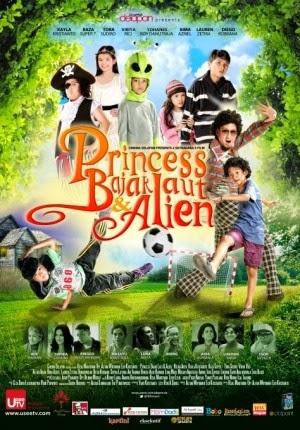Film Princess Bajak Laut dan Alien 2014