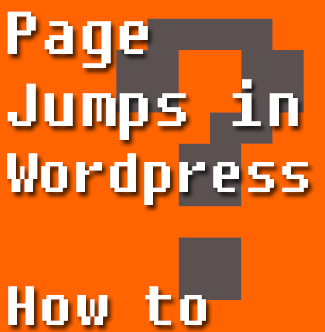 Jump Links in HTML