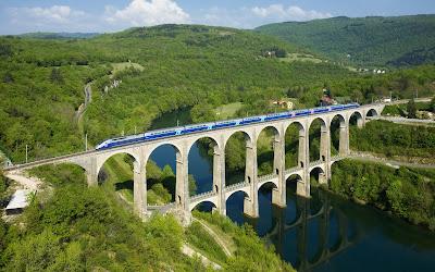 Viaducto de Cize-Bolosom (Puente de Ferrocarril) Francia