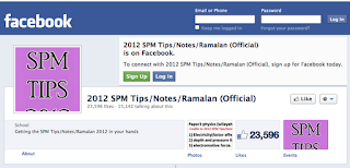 2012 SPM Tips/Notes/Ramalan (Official)
