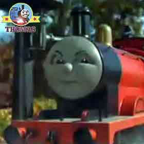 Really splendid James the red engine as good as Gordon train wait your turn Emily the tank engine