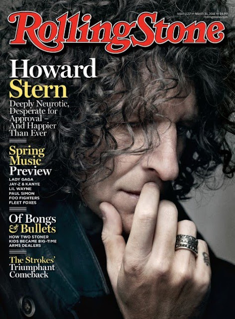 howard stern on rolling magazine