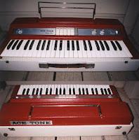 Ace-tones bandnaam verklaring - Ace Tone combo orgel