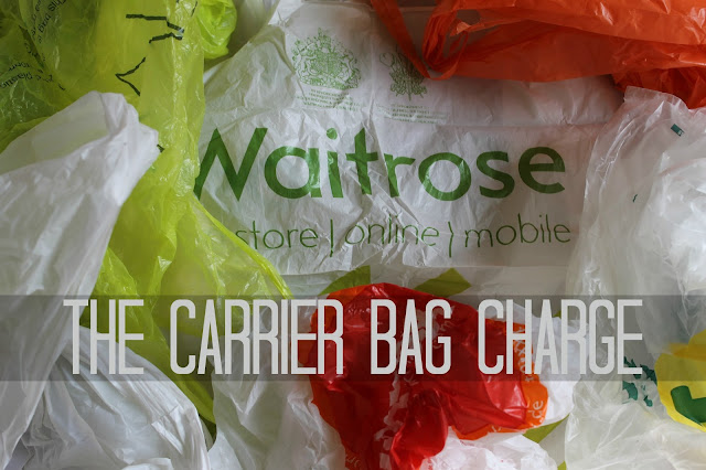 Carrier bag charge tax England Defra plastice single use