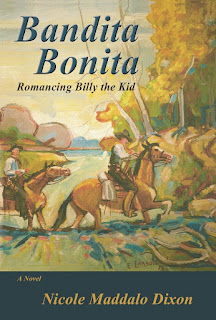 Excerpt: Bandita Bonita - Romancing Billy the Kid by Nicole Maddalo Dixon, www.writersandauthors.info #AmReading #Books