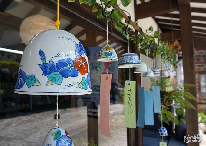 Furin, clochette à vent à Okawachiyama, Saga, Kyushu