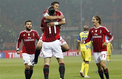 AC Milan 4 - 0 Chievo Verona (1)