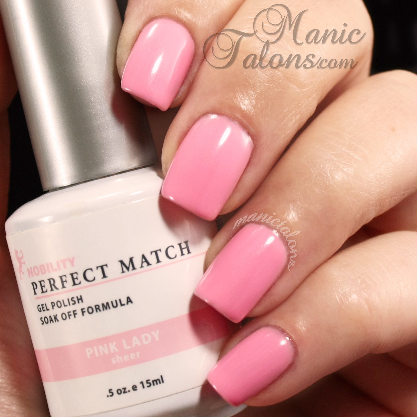 LeChat Perfect Match Gel Polish Swatch Pink Lady